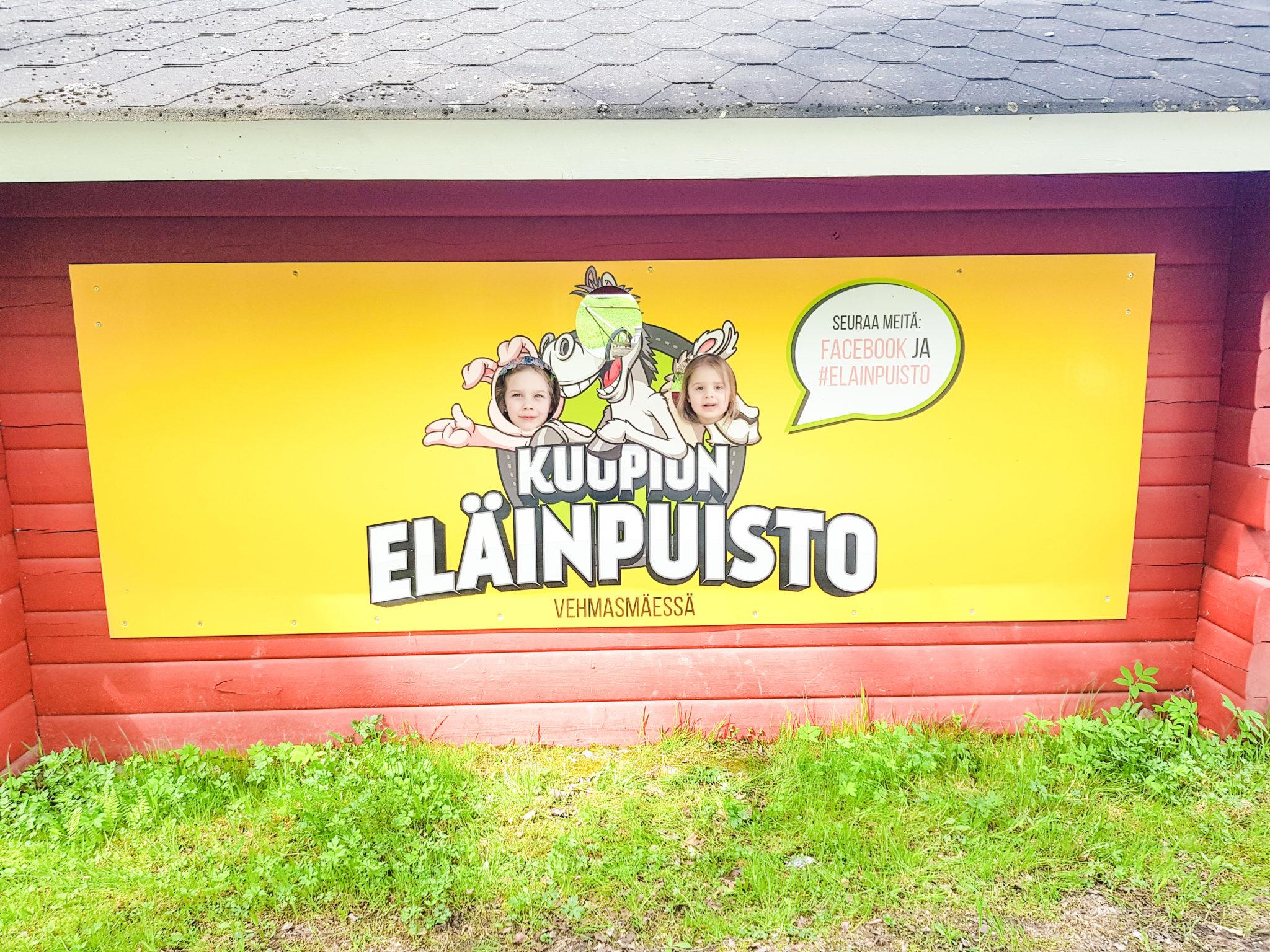 Kuopion eläinpuistossa