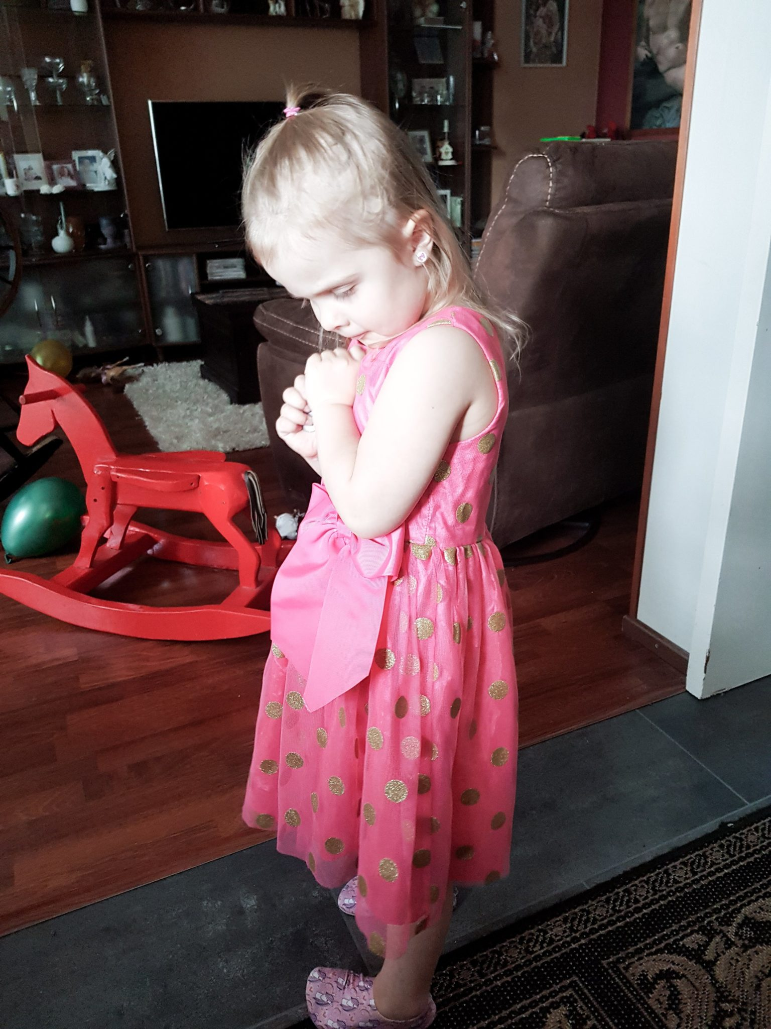 Slipstop tossut lapsella